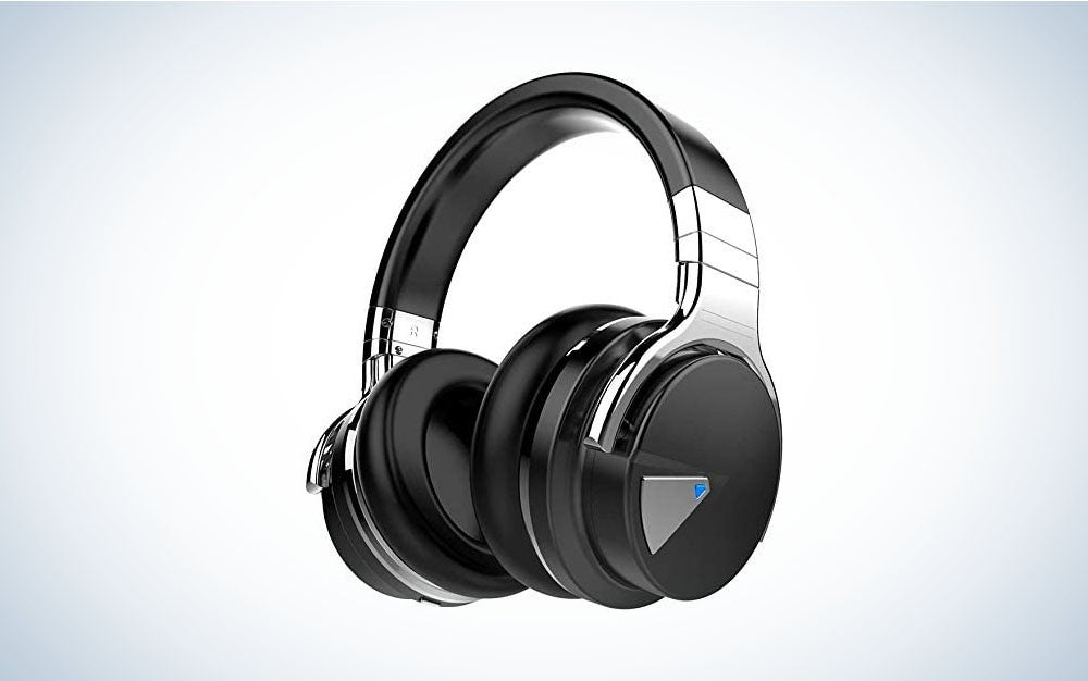 The Cowin E7 Active Noise-Cancelling Headphones are the best Bluetooth headphones on a budget.
