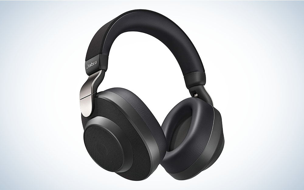 The Jabra Elite 85h Wireless Noise-Canceling Headphones are the best bluetooth headphones for rushing around.