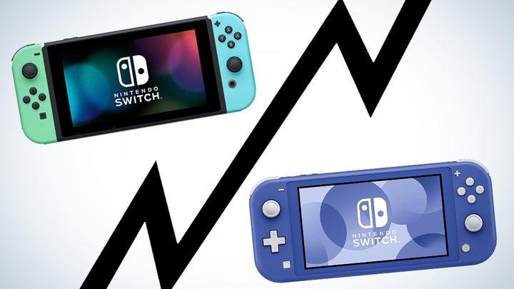switch vs switch lite comparison