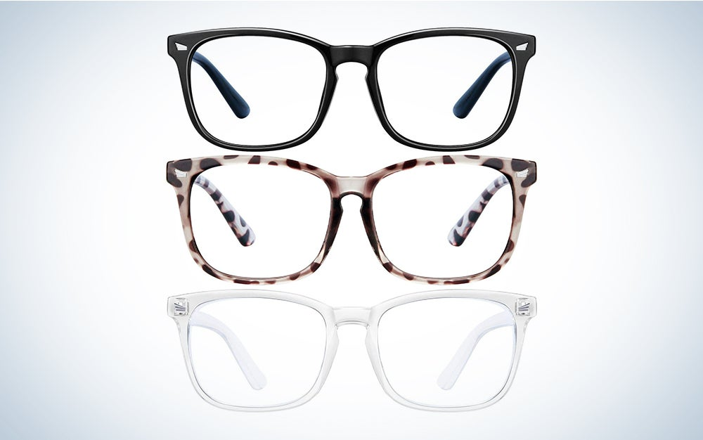 three best blue light blocking glasses