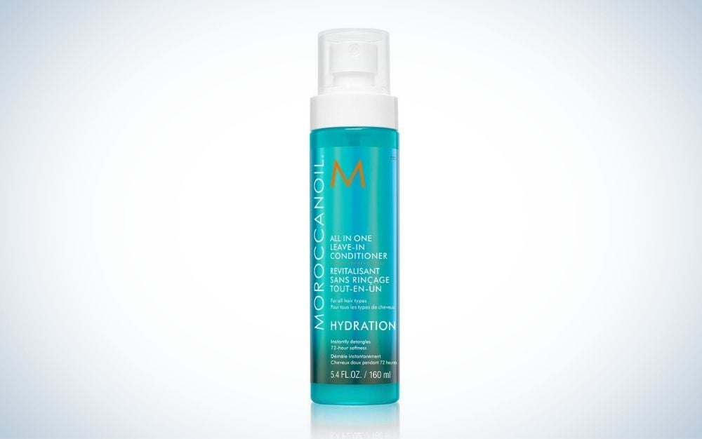 Bottle of all-in-one leave-in conditioner