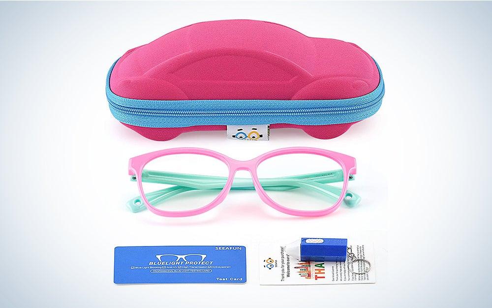 best kids blue light blocking glasses