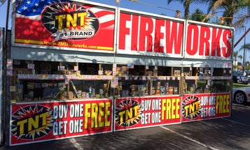 Fireworks pose a huge hazard during this scorching Fourth of July weekend