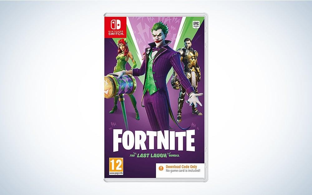 Fortnite the best nintedo switch game for kids