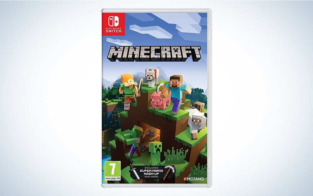Minecraft the best nintendo switch game for kids