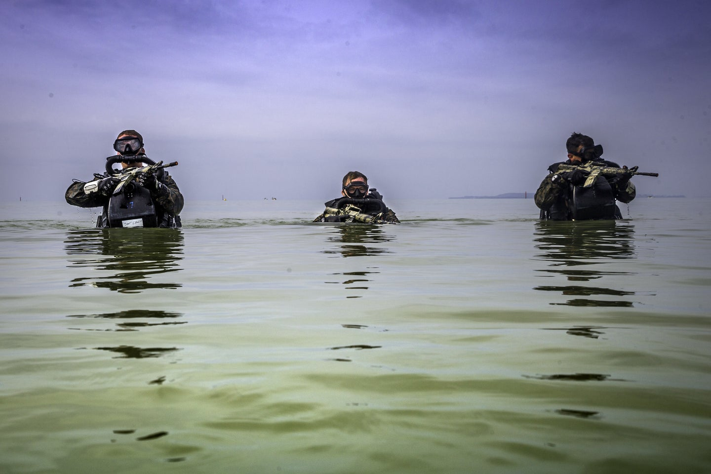 This new Russian rifle is designed for combat beneath the waves
