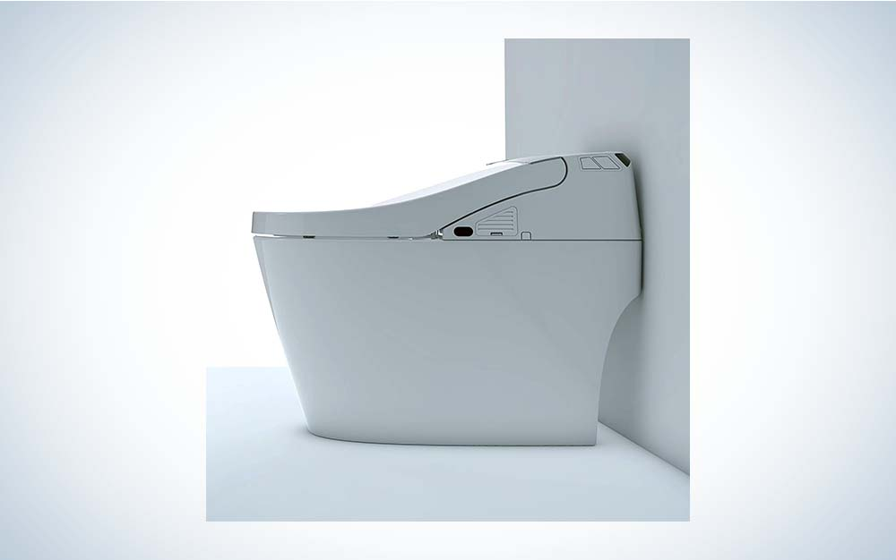 The WOODBRIDGE B-0960S B0960S Smart Bidet is the best bidet toilet combo.