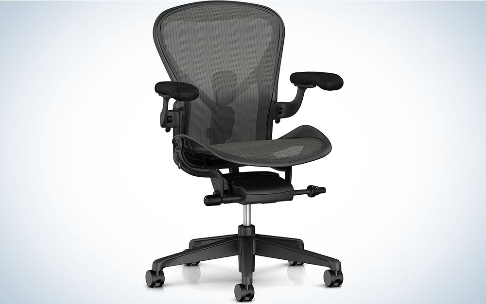 The Herman Miller Aeron Chair is the best overall.