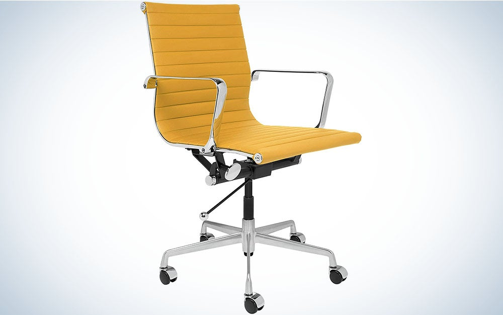 Laura Davidson SOHO Office Chair is best for posture.