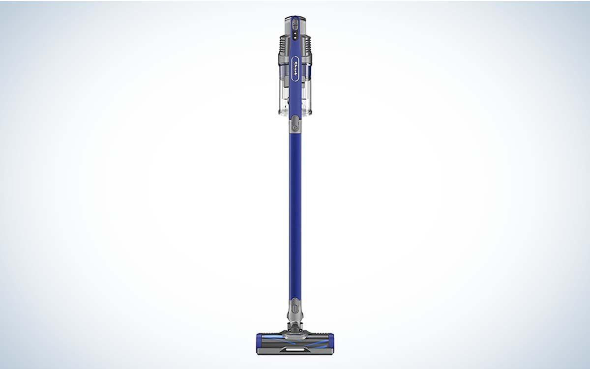 The Shark Anti-Allergen Pet Power Cordless Lightweight Stick Vacuum is the best cordless vacuum for pet hair.