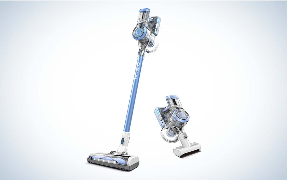 The Tineco A11 Hero Cordless Vacuum Cleaner is the best overall cordless vacuum