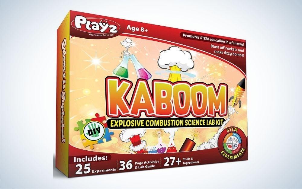 Explosive science kit for kids
