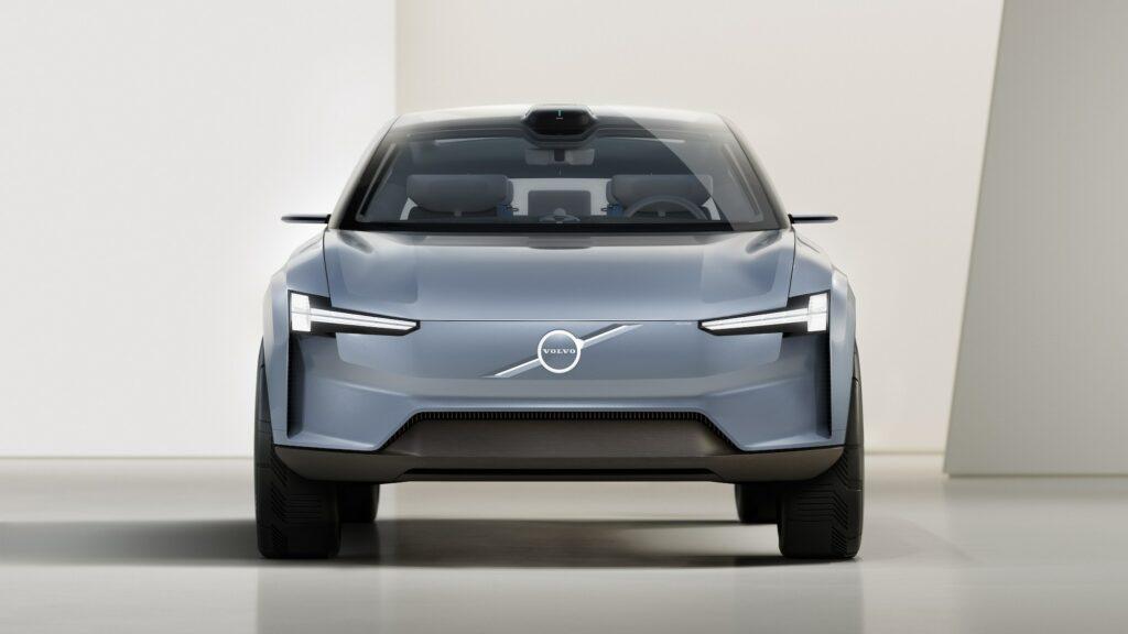 Volvo's sleek electric car concept has big Ikea vibes