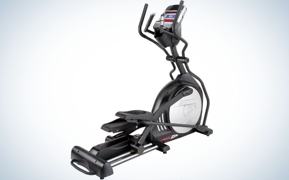 The Sole Fitness E25 is our choice for the best elliptical splurge.