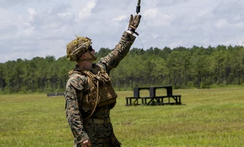 The US Marines are testing flying, remote-controlled grenades