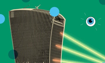 Some skyscrapers are so shiny they turn into death rays