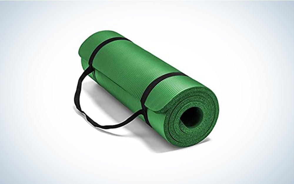 Yoga mats make the best home fitness equipment