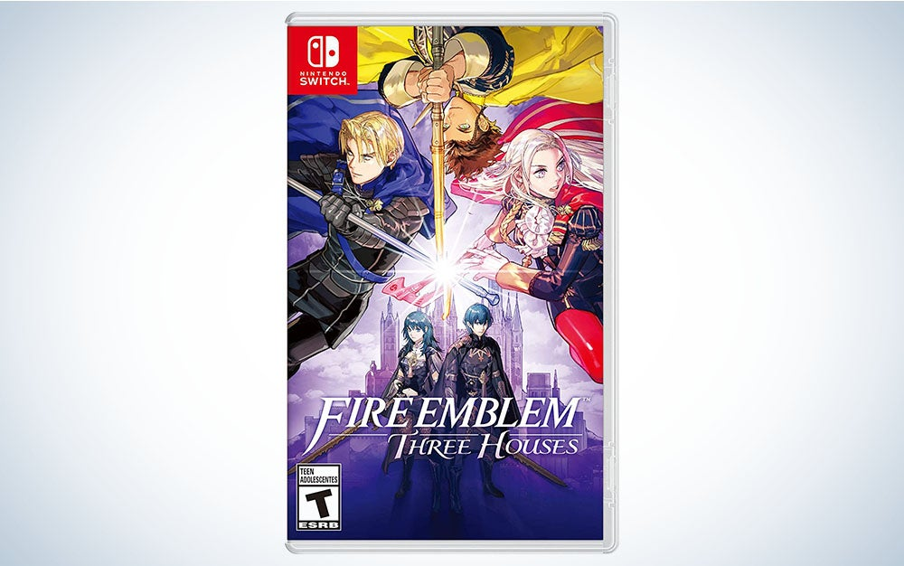 Fire Emblem: Three Houses is the best Nintendo Switch game for a long layover or flight.