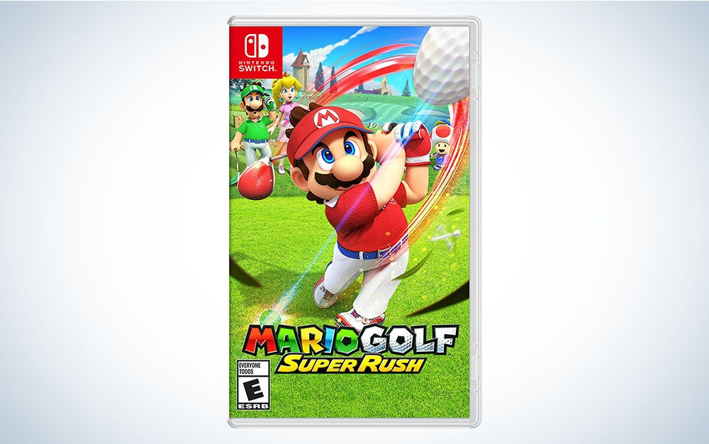 Mario Golf: Super Rush is the best Nintendo Switch game for sitting on a bench in the park.