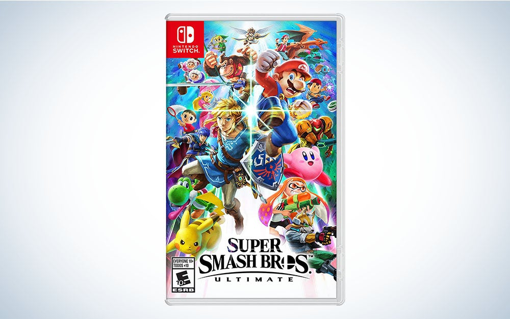 Super Smash Bros. Ultimate is the best Nintendo Switch game for killing time in line with friends.