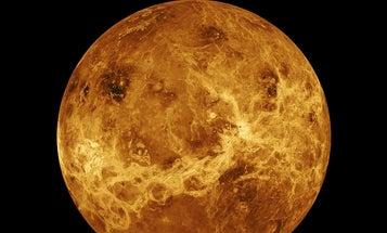Volcanoes, not alien life, might explain Venus's weird atmosphere