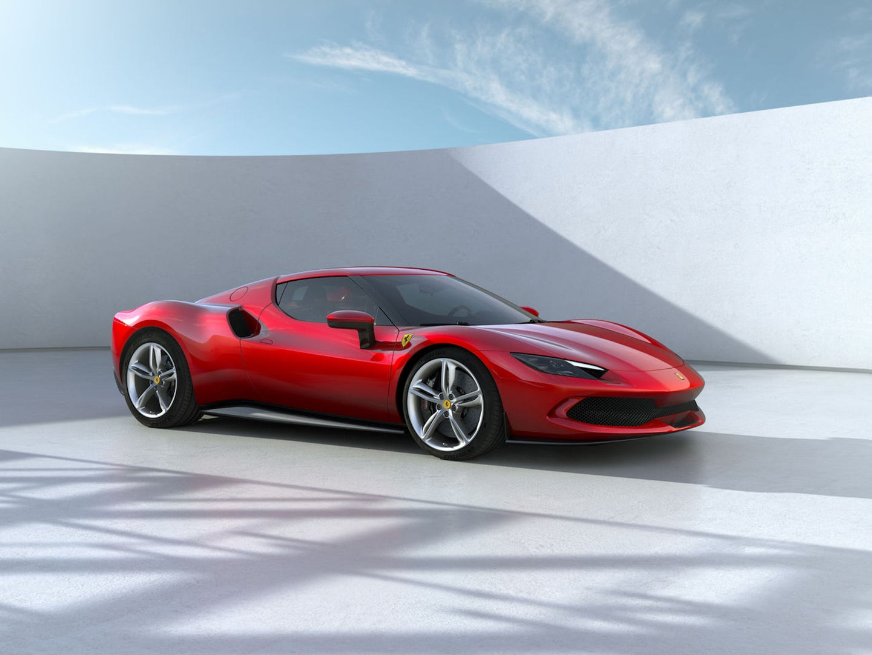 Ferrari's new 296 GTB sports car