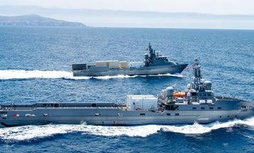 The Pentagon wants to upsize its naval ghost fleet
