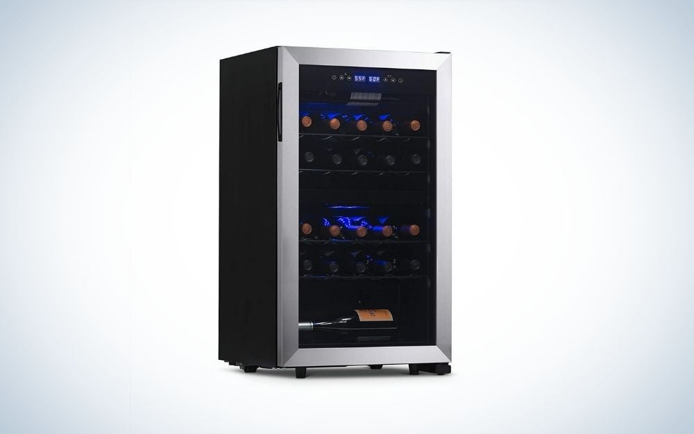 The NewAir Compressor Wine Refrigerator is the best dual-zone wine chiller.