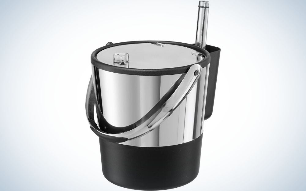The Oggi Insulated Ice Bucket is our pick for the best wine chiller bucket.