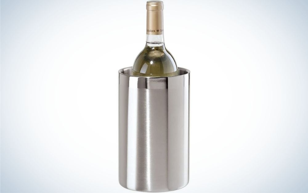 The Oggi Wine Cooler is our pick for best wine chiller on a budget.