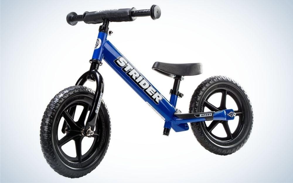 The Strider 12 Sport Balance Bike is our picks for best kids bike for balance