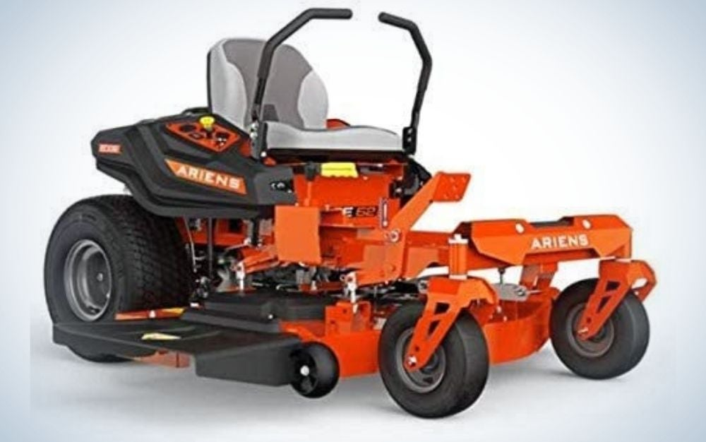 Just starting out? The Ariens Edge Zero-Turn Mower is the best for first-timers.