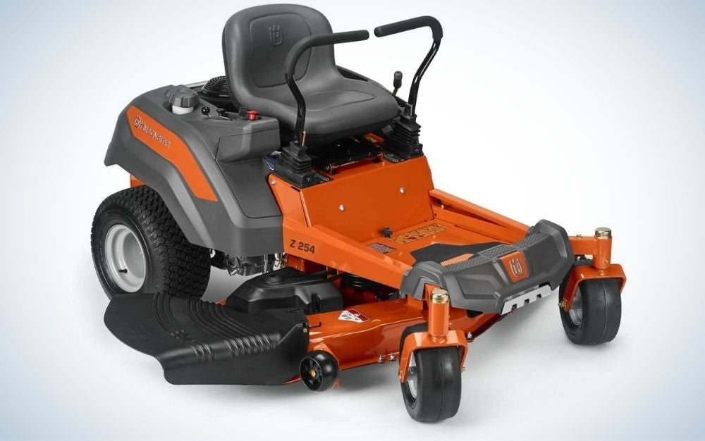 The Husqvarna Z254 is the best zero-turn mower for homeowners with large yards.