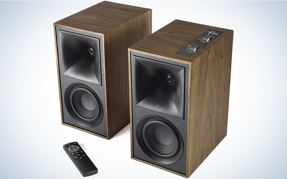 Klipsch The Fives with remote product card