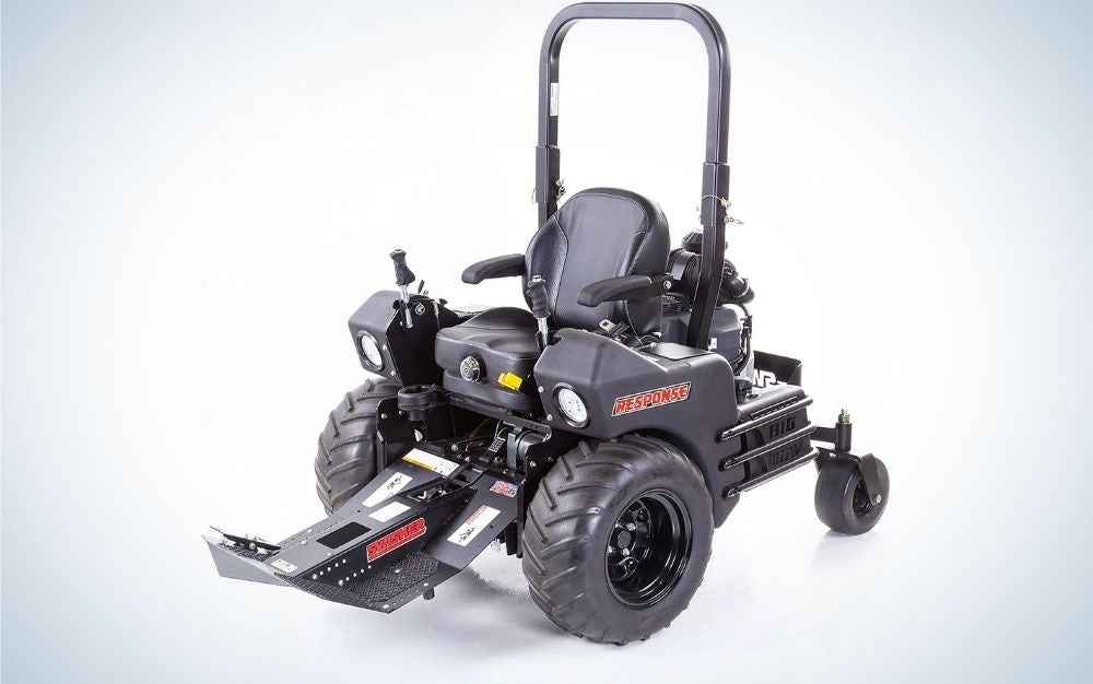 The Swisher Big Mow Commercial Front Mount Tractor is the best for pros.