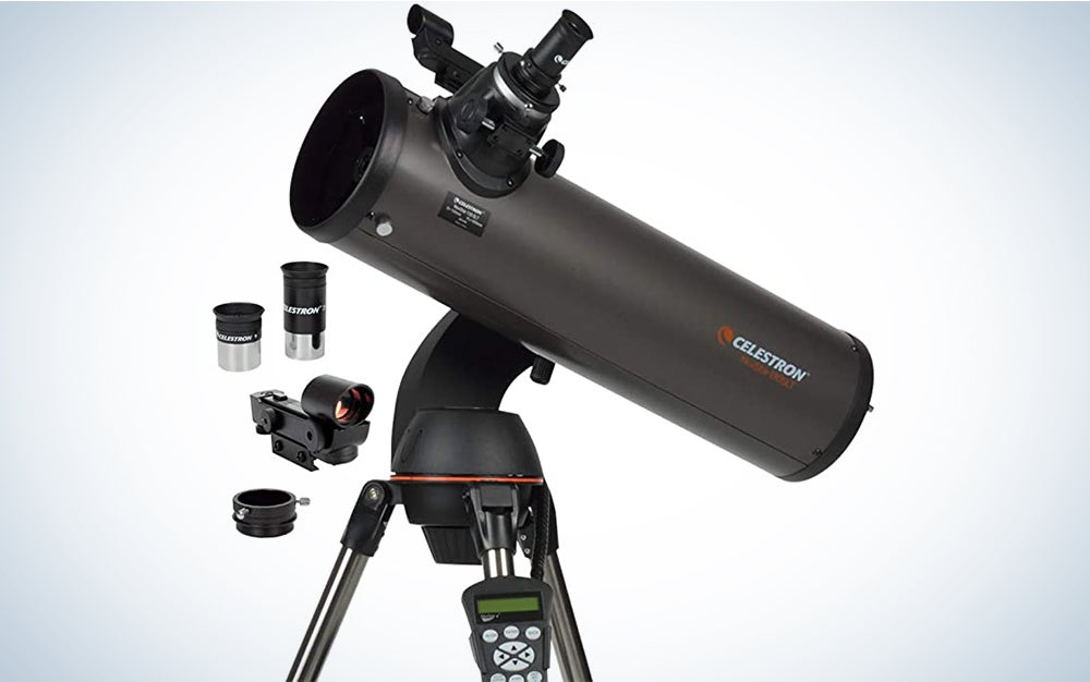The Celestron Nexstar 130SLT is the premium telescope pick for viewing the planets.