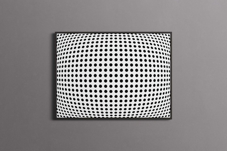 bulge-dots-illustion