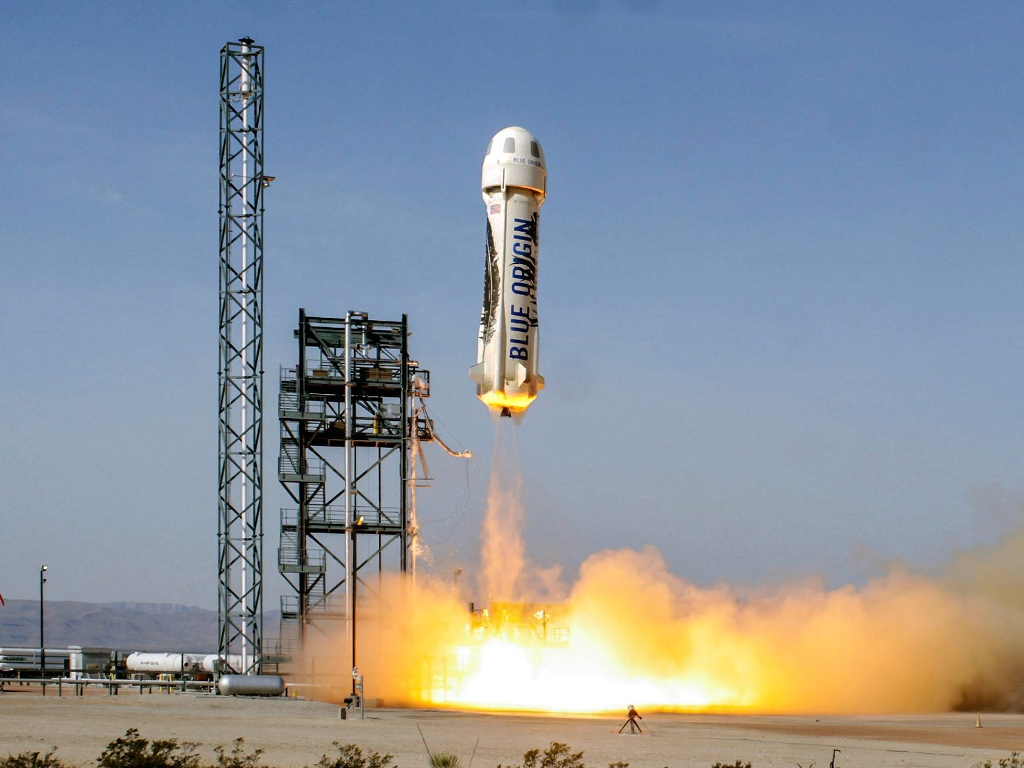 Blue Origin brought the first official tourists to space