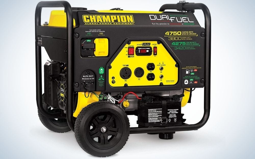 The Champion Power Equipment 76533 Portable gas Generator is the best for preppers.