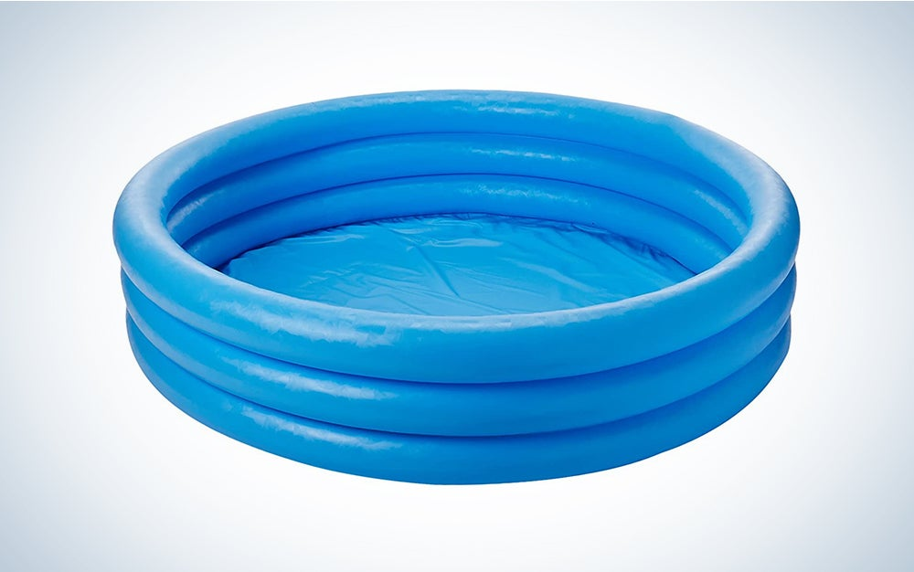 The Intex Crystal Blue Inflatable Pool is the best budget pick.