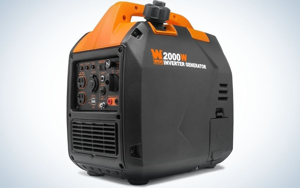 The WEN 56203i is the best portable gas generator for camping