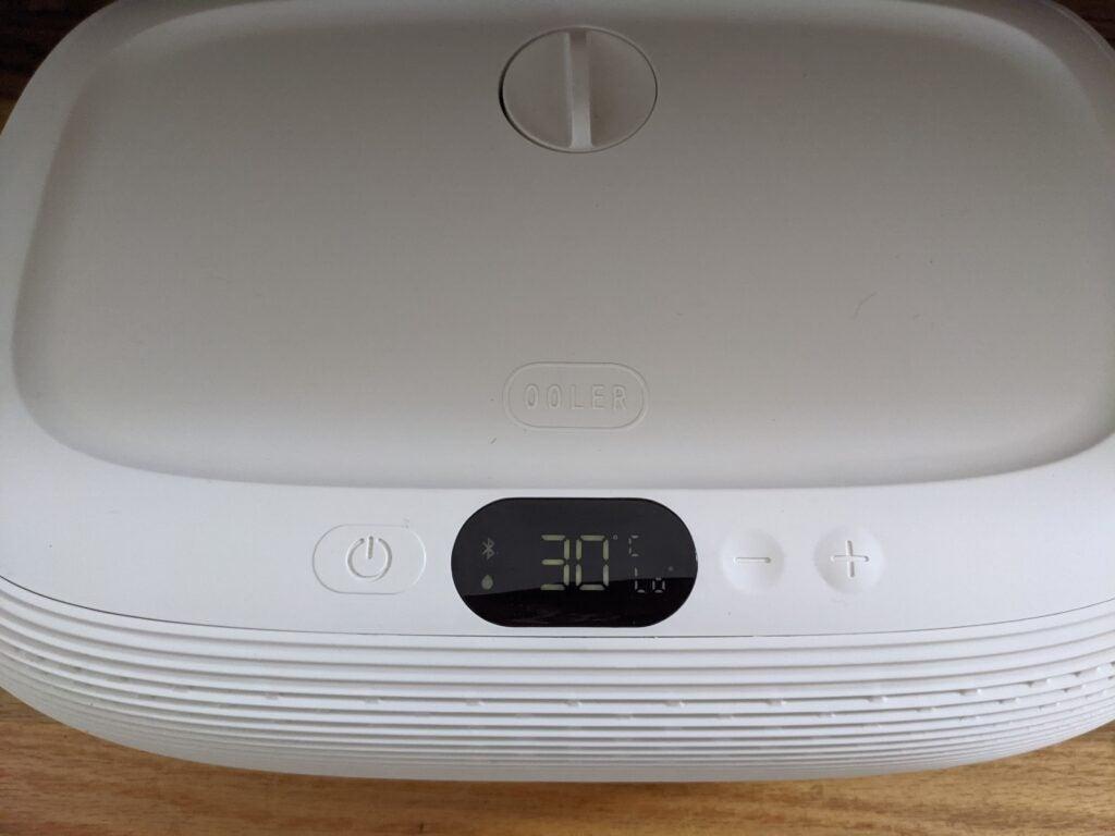 ChiliSleep Ooler Sleep System controls
