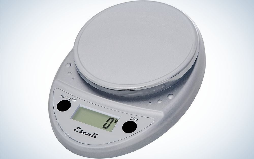 The Escali Primo P115C Precision Kitchen Food Scale is the best kitchen scale for cooking and baking.