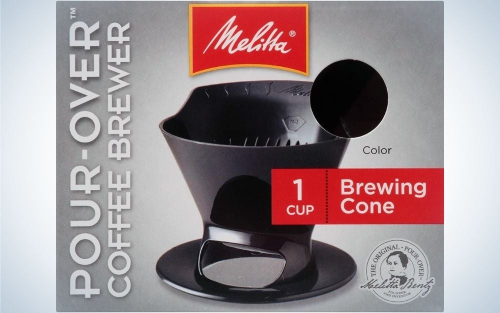 The Melitta Filter Coffee Maker is our pick for best pour over coffee maker.
