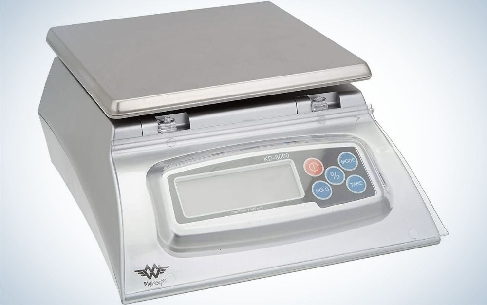 My Weigh is the best kitchen scale for experienced bakers.