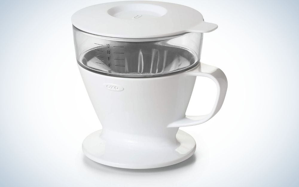The OXO Brew Pour-Over Coffee is our pick for best pour over coffee maker.