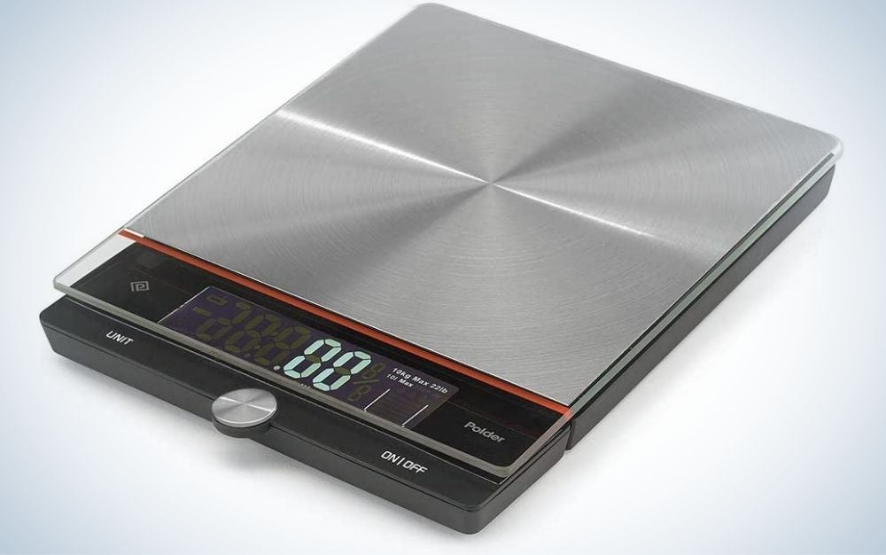 The Polder KSC-348 Digital Kitchen Scale is the best for large families.
