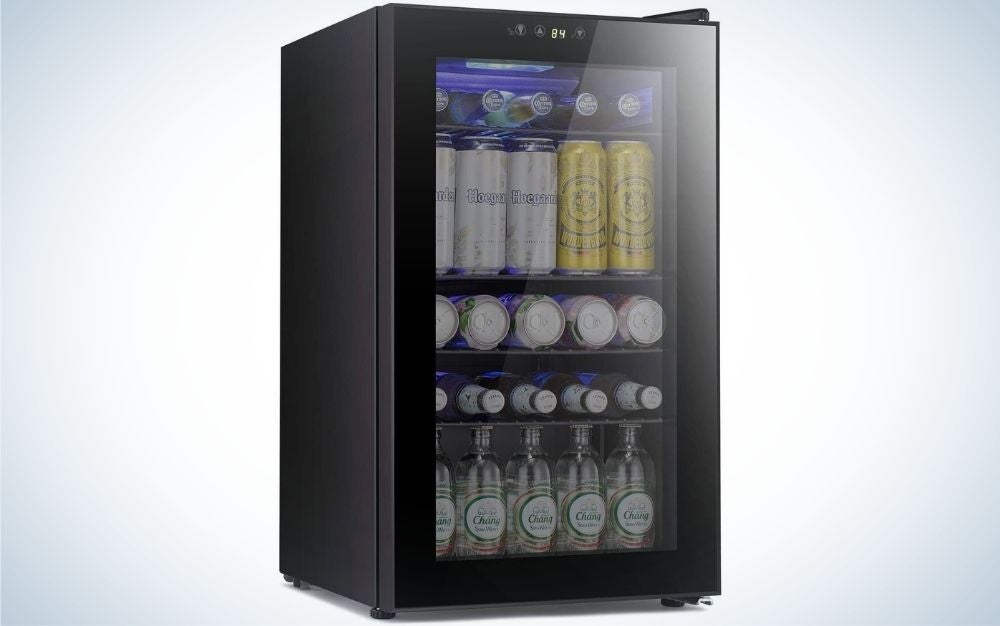 The Antarctic Star Beverage Refrigerator is the best beverage cooler for apartment dwellers.