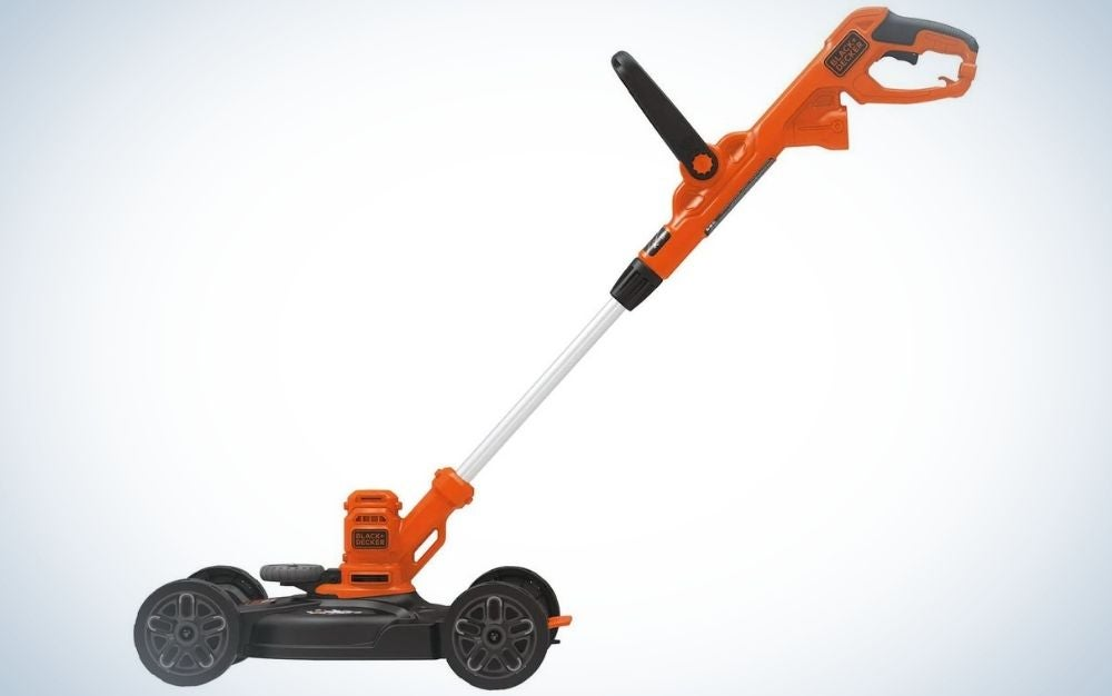 The Black and Decker Electric Lawn Mower/Trimmer is the best electric lawn mower for city dwellers.