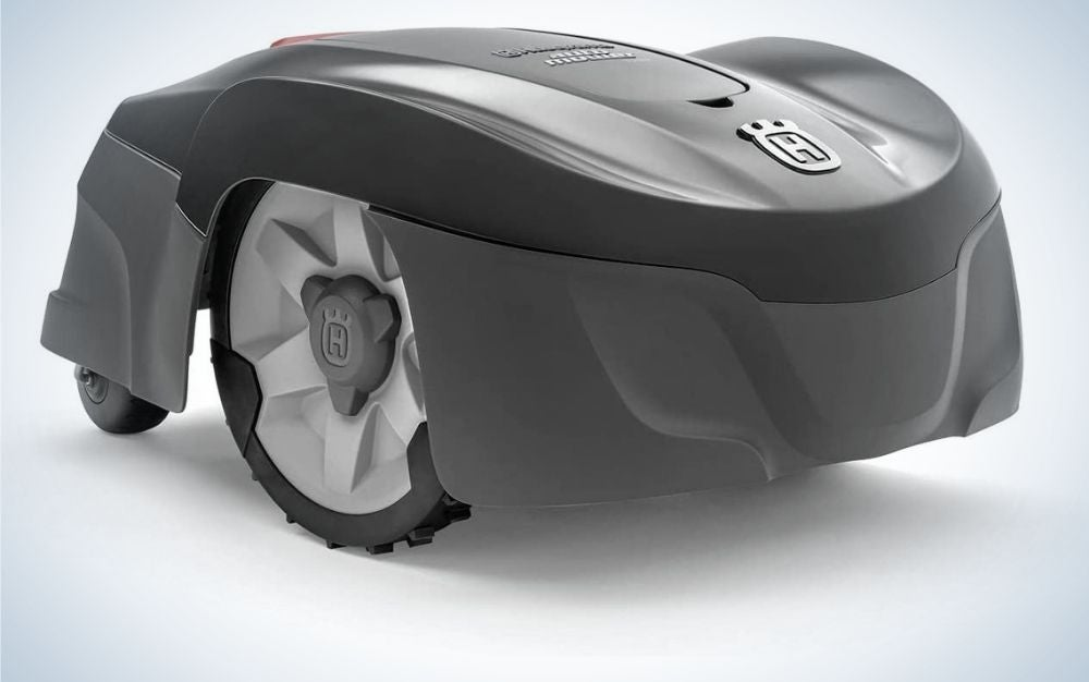The Husqvarna Automower Robotic Lawn Mower is the best electric lawn mower for gadget lovers.